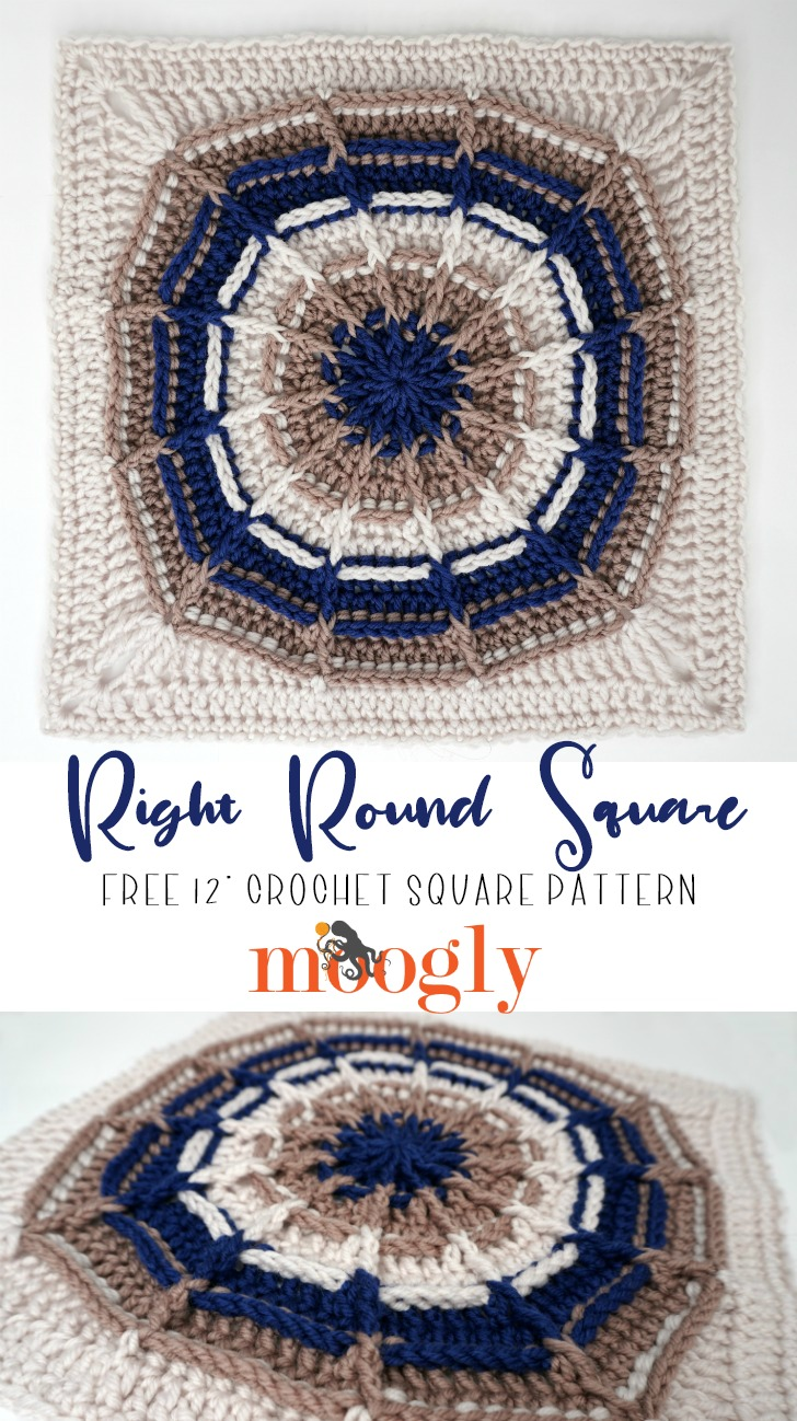 Right Round Square - Pinterest Collage