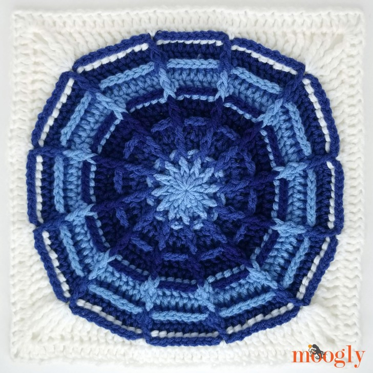 Right Round Square in MooglyCAL2019 colors