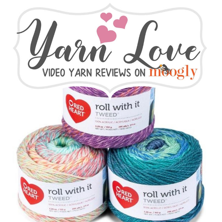 Yarn Love- Red Heart Roll With It Tweed on Moogly