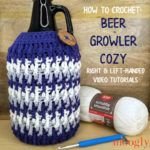 Beer Growler Cozy Tutorial on Moogly