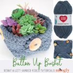 Button Up Basket Tutorial