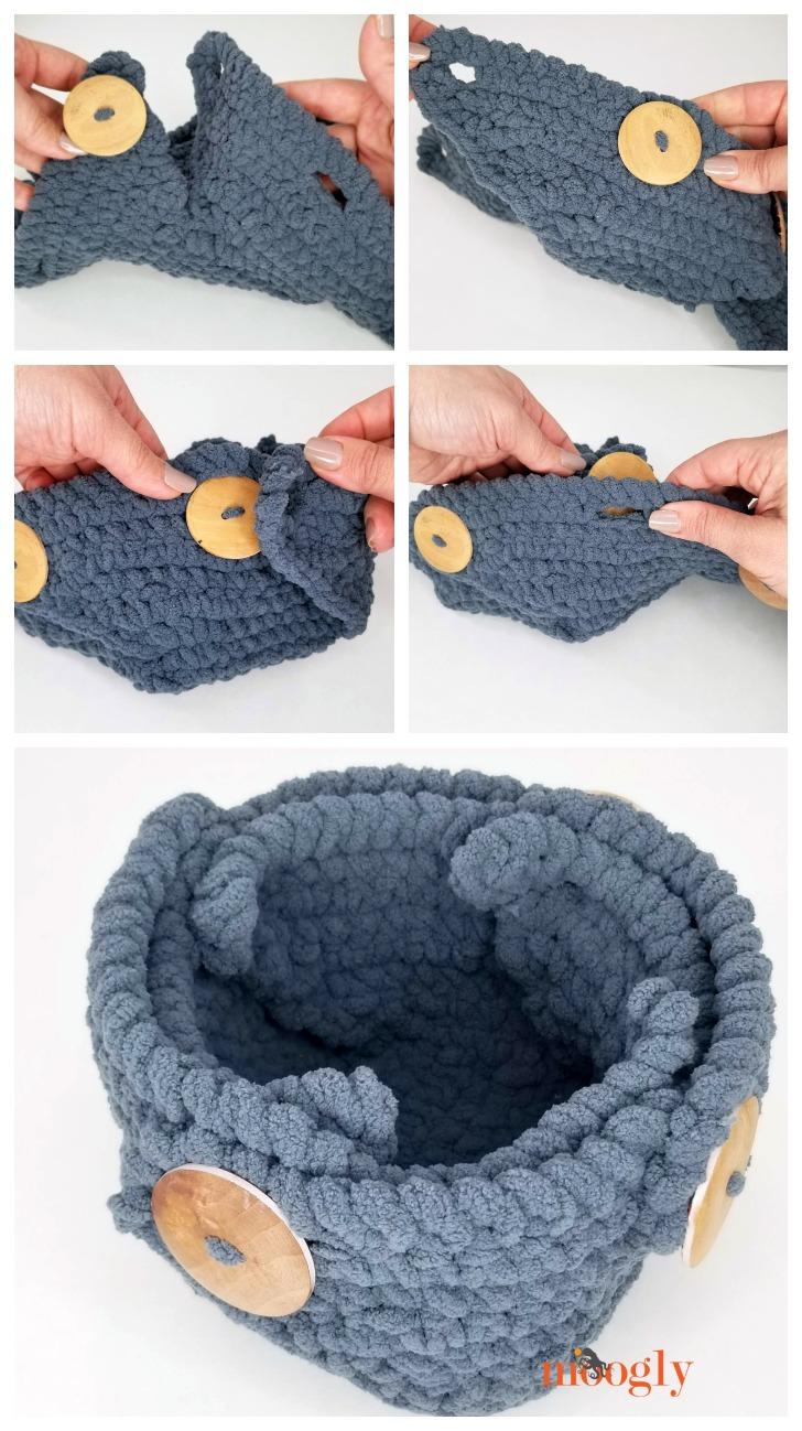 Button Up Basket - assembly