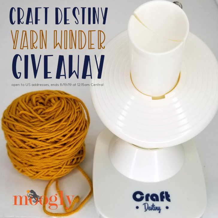 Craft Destiny Yarn Winder Giveaway on Moogly