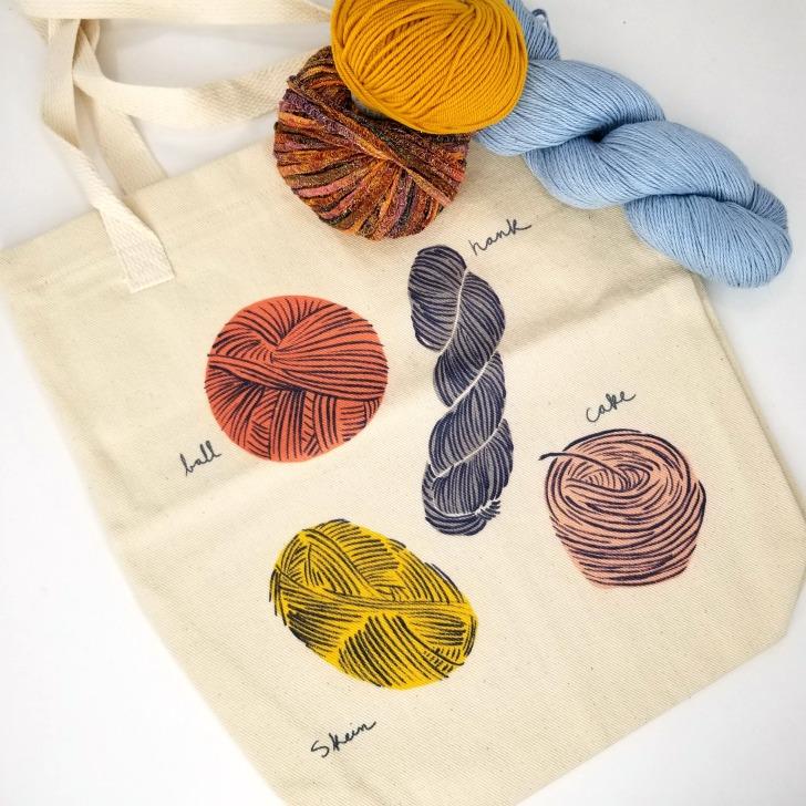 Global Backyard Industries Tote Bag - Yarn Styles
