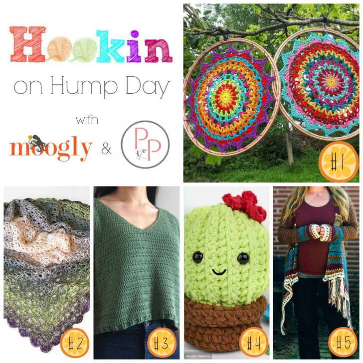 Hookin On Hump Day 194 - on Moogly! Get all these crochet patterns FREE!