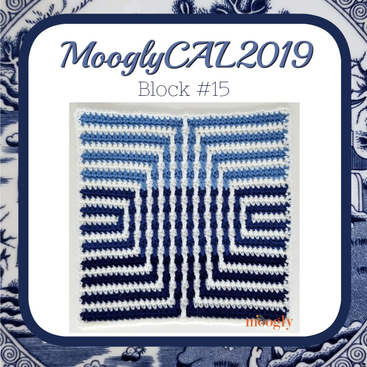 MooglyCAL2019 Block #15 - courtesy of Marly Bird!