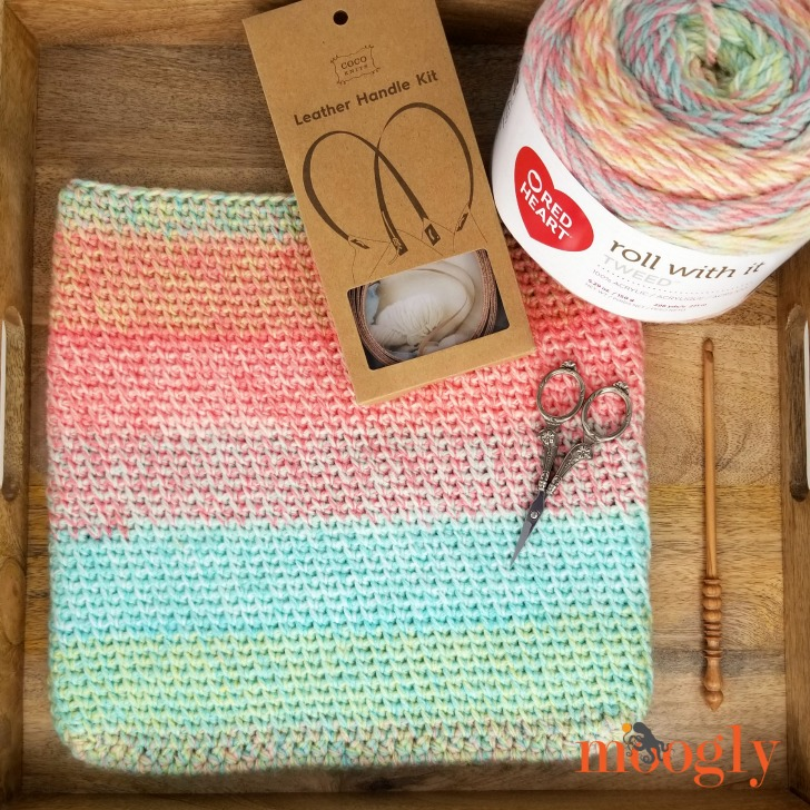 Sherbet Stripes Tote - Supplies Needed