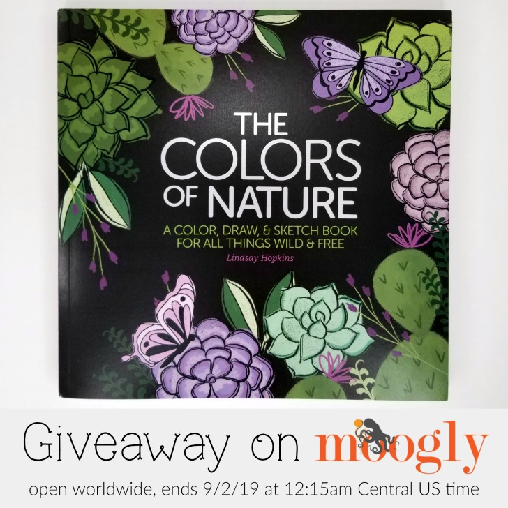 The Colors of Nature Giveaway on Moogly - open worldwide, ends 9/2/19