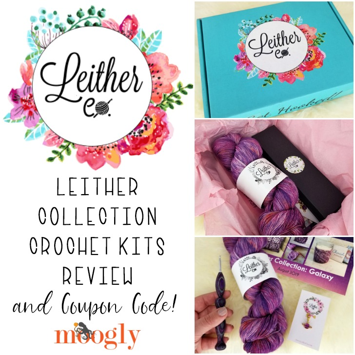 Leither Collection Crochet Kits Review and Coupon Code on Moogly!