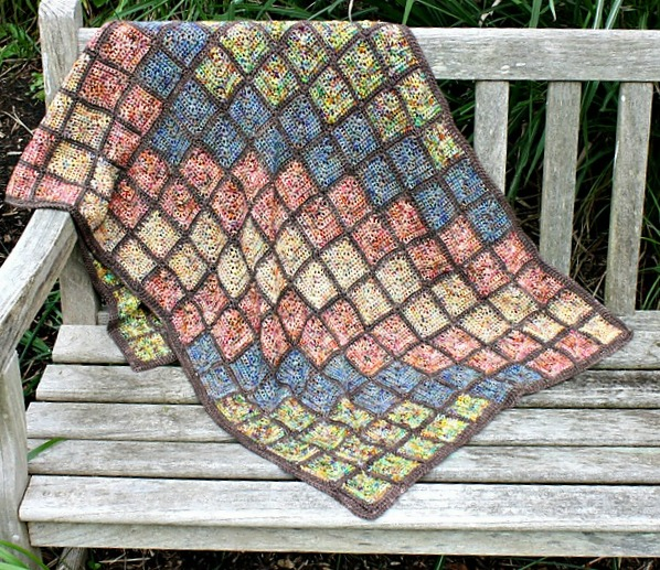 Mosaic Tile Wrap by Mary Beth Temple