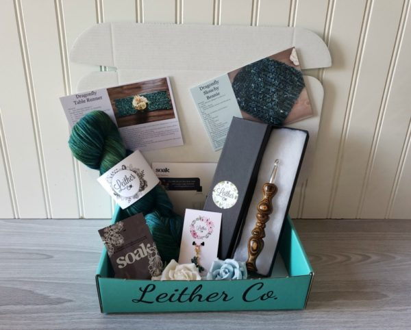 Leither Co Natural Box
