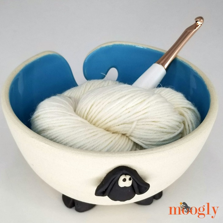 Uncommon Goods Sherman the Sheep Yarn Bowl - Moogly
