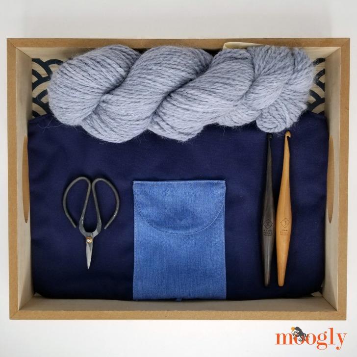 Uncommon Goods Travel Knitting Bag - Moogly