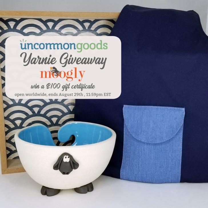 Uncommon Goods Yarnie Giveaway on Moogly