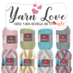 Red Heart Dreamy: Yarn Love Video Yarn Review