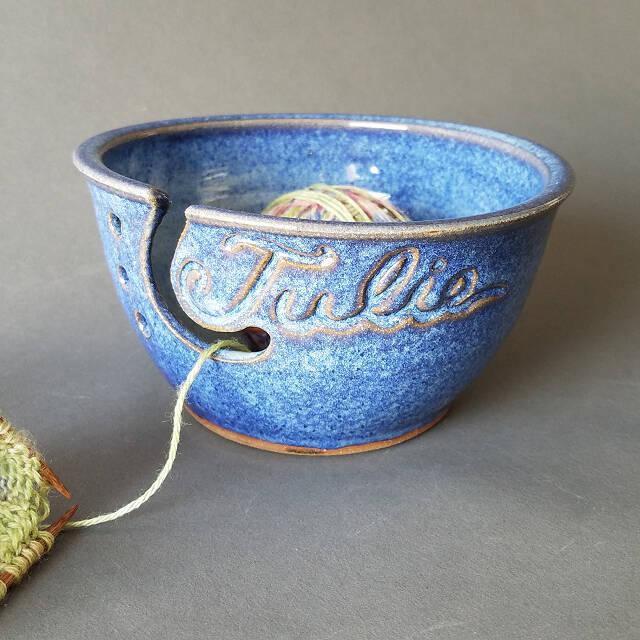 Custom Yarn Bowl on Uncommon Goods