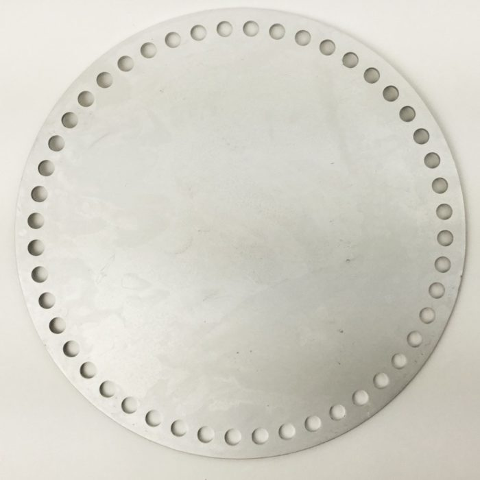 Aluminum Round Basket Base for Crochet on Hooked For Life