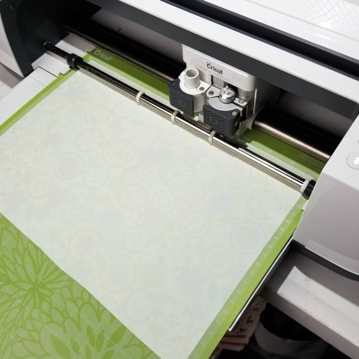 How to cut patterned iron-on using the Cricut