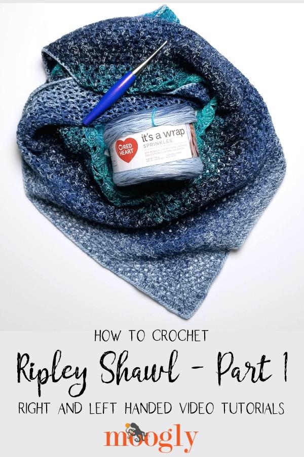 Ripley Shawl Tutorial Part 1 - on Mooglyblog.com!