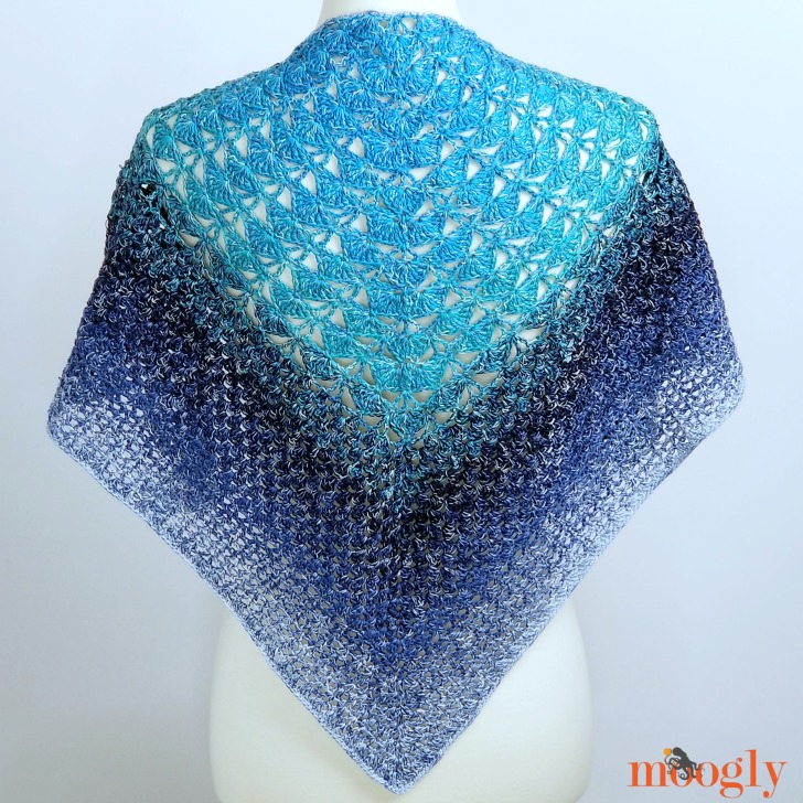 Ripley Shawl - free CAL pattern on Moogly!