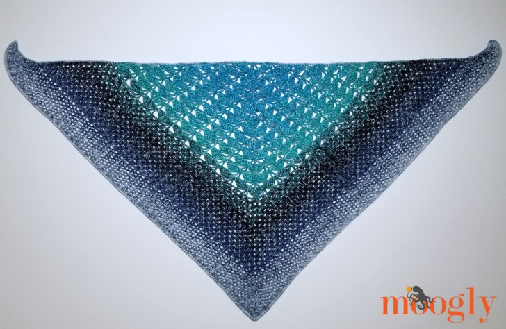 Ripley Shawl - free crochet pattern coming soon to Moogly!