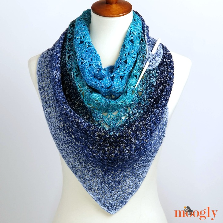 Ripley Shawl - Free Crochet Pattern on Moogly!