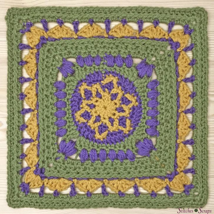 Supernova Square by Stitches N Scraps