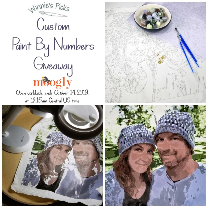 Winnie's Picks Custom Paint By Number Giveaway on Moogly