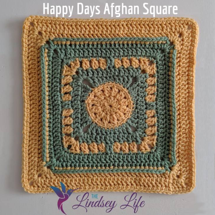 Happy Days Square by The Lindsey Life