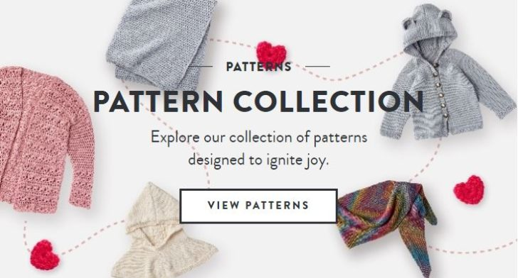 Yarnspirations.com Free Patterns
