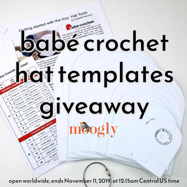 Babé Crochet Hat Templates Giveaway on Moogly