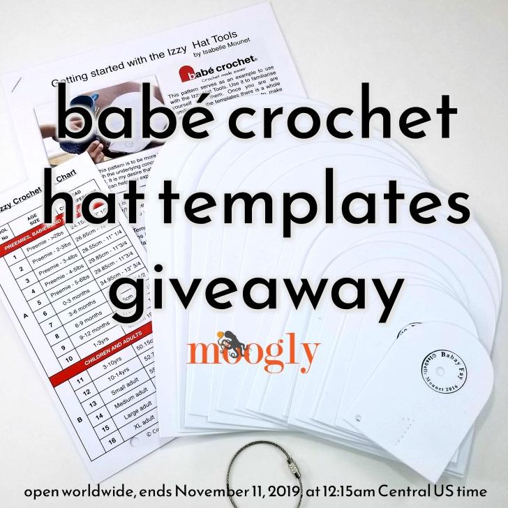 Babé Crochet Hat Templates Giveaway on Moogly