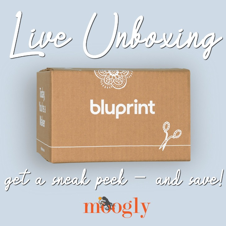 Bluprint Premium Live Unboxing on Moogly! Get a peek inside, and a $10 savings with Moogly's link!