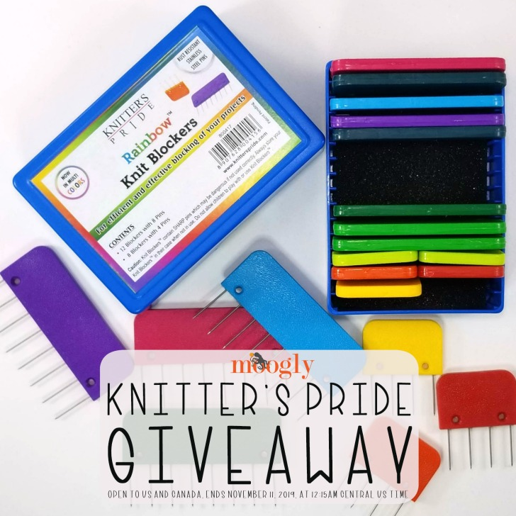 Knitter's Pride Knit Blockers Giveaway on Moogly