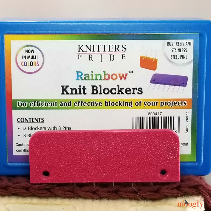 Knitter's Pride Rainbow Knit Blockers Giveaway - closeup 3