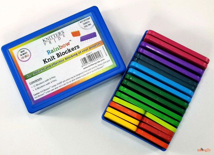 Knitter's Pride Rainbow Knit Blockers Giveaway - in box