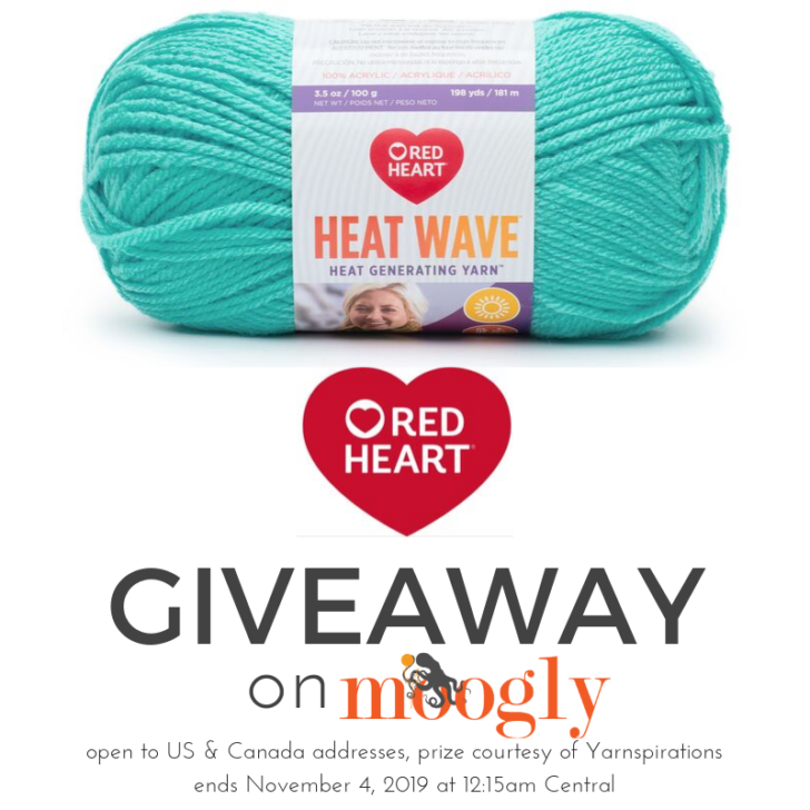 Red Heart Heat Wave Giveaway on Moogly!