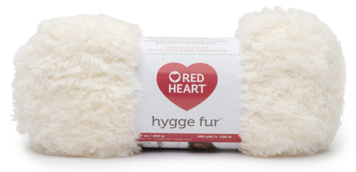 Red Heart Hygge Fur - get great tips for working with this yarn on Mooglyblog.com!