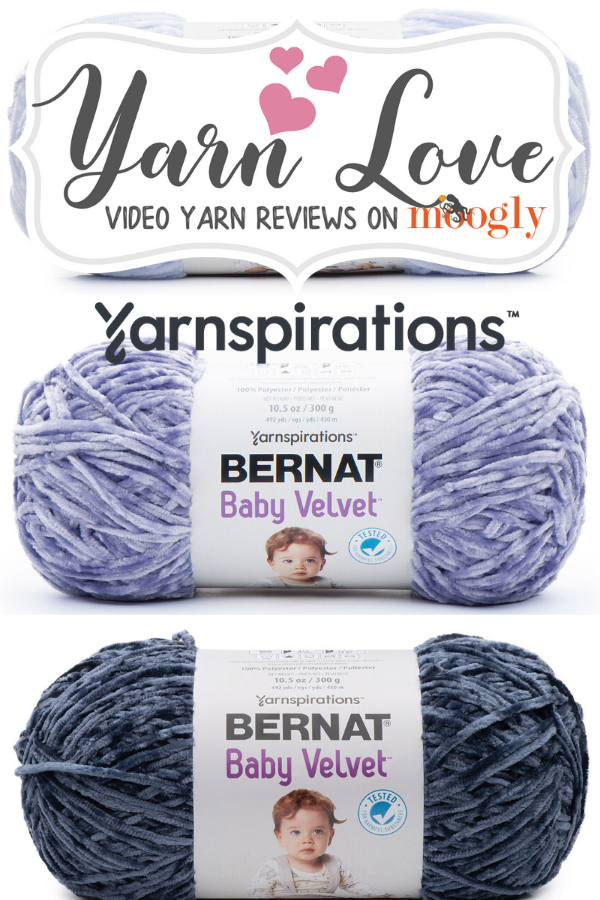 Bernat Baby Velvet Yarn Love Video Review on Moogly