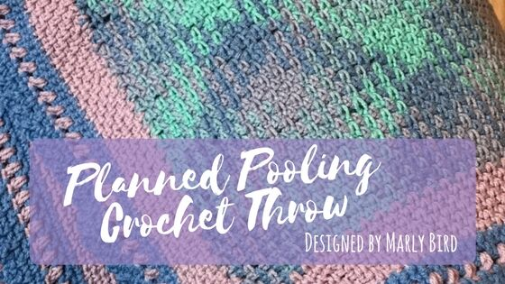 planned pooling - pastel throw
