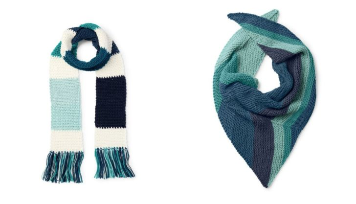 Pretty patterns to make with Caron X Pantone - and show of the Pantone Color of the Year!