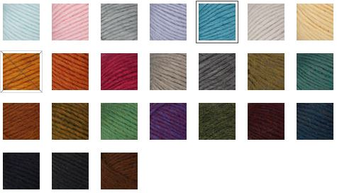 Colorways of Patons Alpaca Blend - enter to win 5 balls on Mooglyblog.com in December 2019!