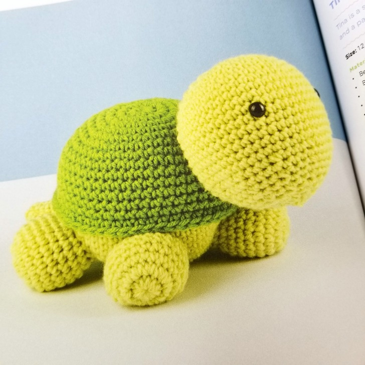 Cute Crochet Critters - Turtle