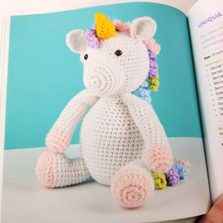 Cute Crochet Critters - Unicorn