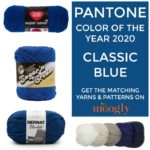 Pantone Color of the Year 2020 Classic Blue in Yarn