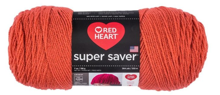 Red Heart Super Saver Coral