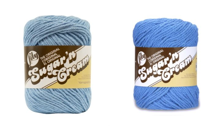Lily Sugar n Cream yarn