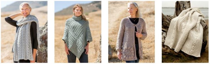 Annie's Signature Designs Autumn 2019 Collection - see more on Moogly! Look at all that texture!