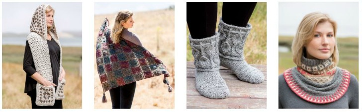 Annie's Signature Designs Autumn 2019 Collection - see all the patterns this fall on Moogly!