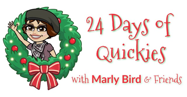 24 Days of Quickies with Marly Bird - free patterns you can make in a day!